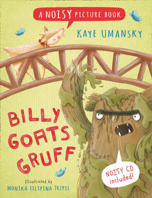 Billy Goats Gruff book by Kaye Umansky for article about sensory stories.