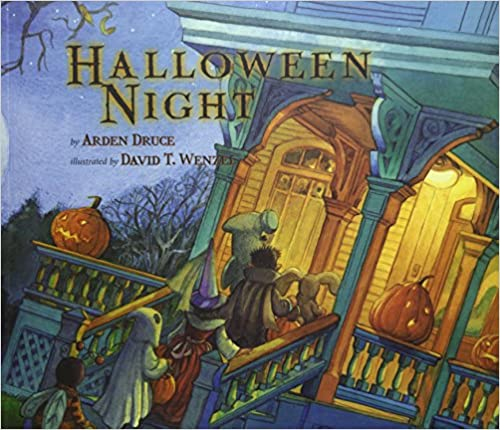 Halloween Night book for turning into a sensory story