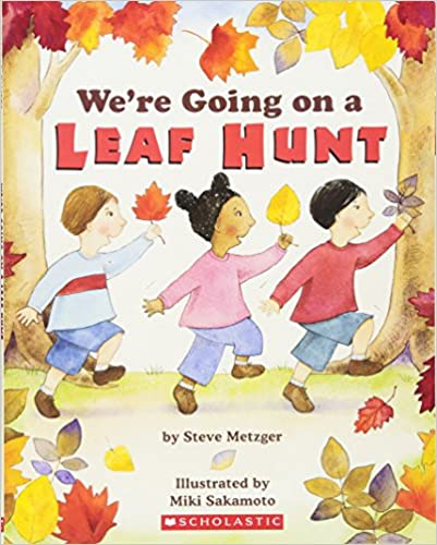 We're Going on a Leaf Hunt book for turning into a sensory story.